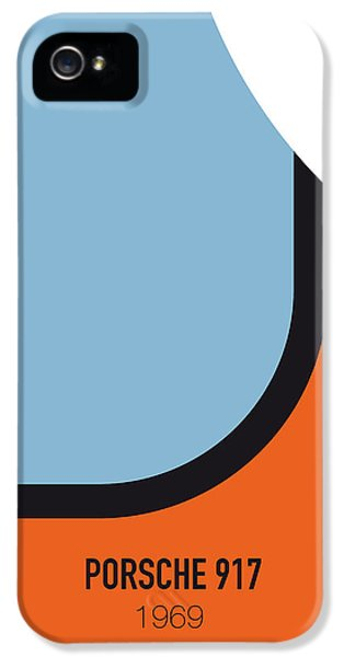 No016 My Le Mans Minimal Movie Car Poster IPhone 5 Case by Chungkong Art