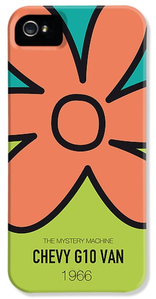 Knight iPhone 5 Case - No020 My Scooby Doo Minimal Movie Car Poster by Chungkong Art