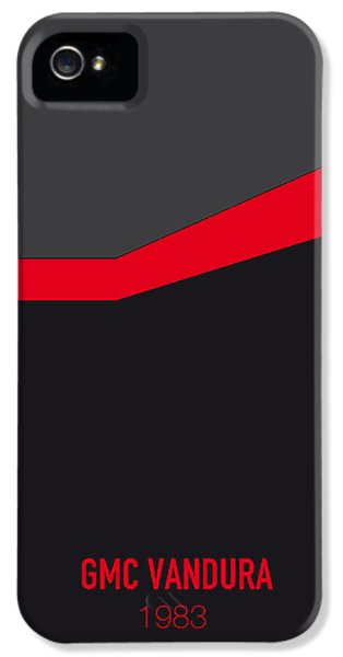 Knight iPhone 5 Case - No023 My Ateam Minimal Movie Car Poster by Chungkong Art