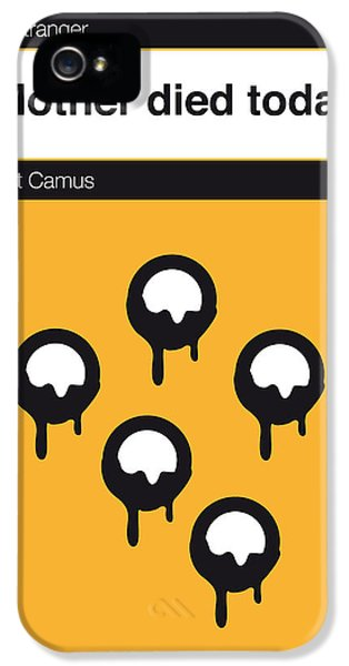 No028-my-the Stranger -book-icon-poster IPhone 5 Case