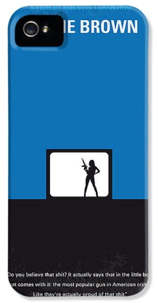 No044 My Jackie Brown Minimal Movie Poster IPhone 5 / 5s Case by Chungkong Art