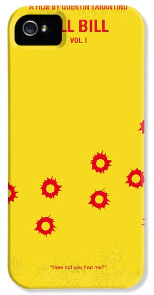 No048 My Kill Bill -part 1 Minimal Movie Poster IPhone 5 Case by Chungkong Art