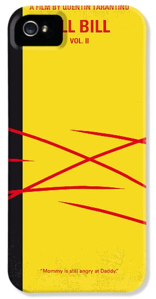 No049 My Kill Bill-part2 Minimal Movie Poster IPhone 5 Case by Chungkong Art