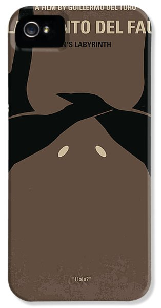 No061 My Pans Labyrinth Minimal Movie Poster IPhone 5 Case by Chungkong Art