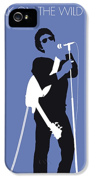 London Tube iPhone 5 Case - No068 My Lou Reed Minimal Music Poster by Chungkong Art