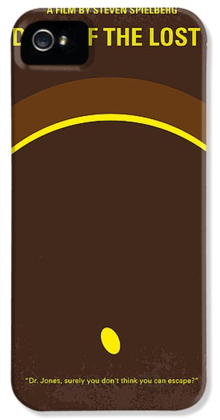 No068 My Raiders Of The Lost Ark Minimal Movie Poster IPhone 5 Case by Chungkong Art