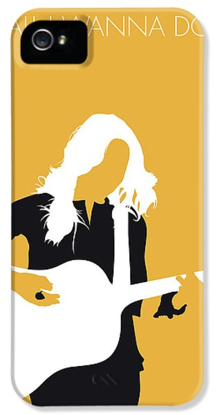 Crow iPhone 5 Case - No074 My Sheryl Crow Minimal Music Poster by Chungkong Art