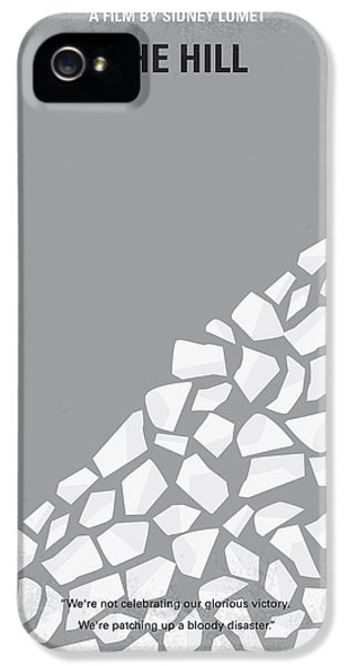 No091 My The Hill Minimal Movie Poster IPhone 5 Case by Chungkong Art