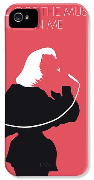 Elton John iPhone 5 Case - No092 My Kiki Dee Minimal Music Poster by Chungkong Art