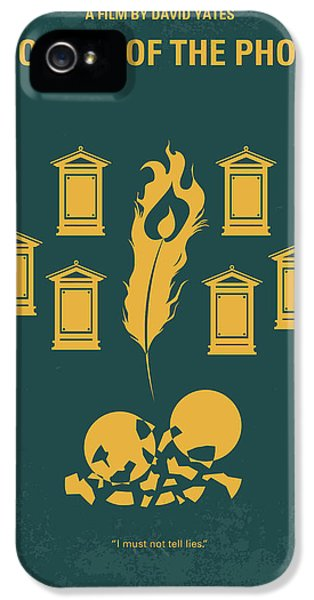 No101-5 My Hp - Order Of The Phoenix Minimal Movie Poster IPhone 5 Case by Chungkong Art