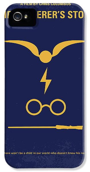 Hollywood iPhone 5 Case - No101 My Harry Potter Minimal Movie Poster by Chungkong Art