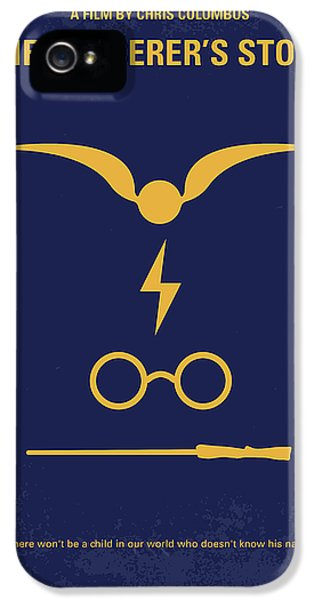 No101 My Harry Potter Minimal Movie Poster IPhone 5 Case by Chungkong Art