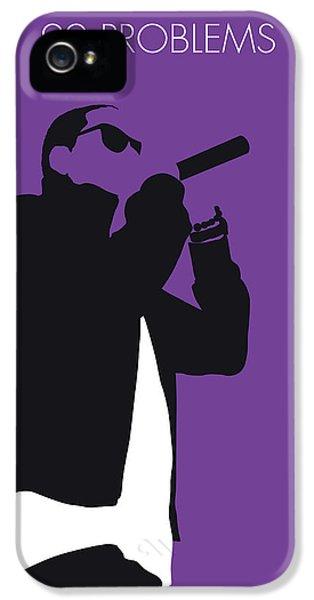 Jay Z iPhone 5 Case - No101 My Jay-z Minimal Music Poster by Chungkong Art