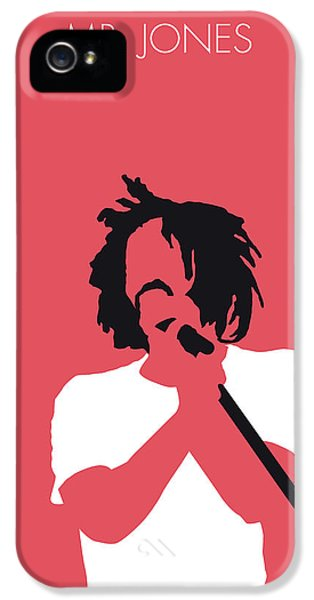 Crow iPhone 5 Case - No102 My Counting Crows Minimal Music Poster by Chungkong Art