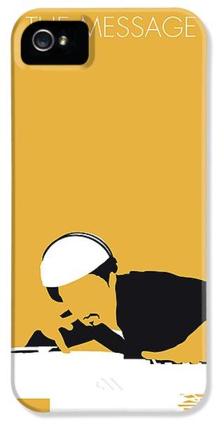 No114 My Grandmaster Flash Minimal Music Poster IPhone 5 Case