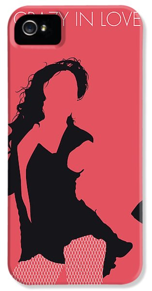 Rhythm And Blues iPhone 5 Case - No122 My Beyonce Minimal Music Poster by Chungkong Art