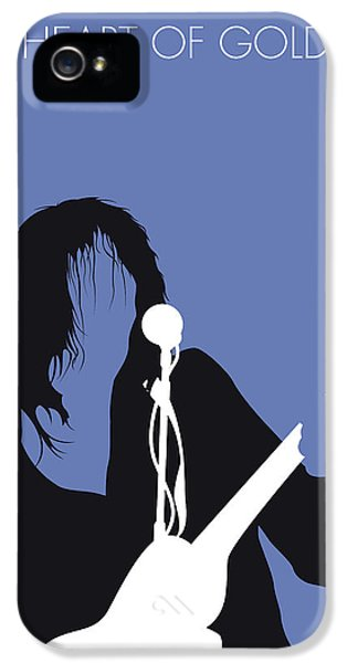 No128 My Neil Young Minimal Music Poster IPhone 5 Case
