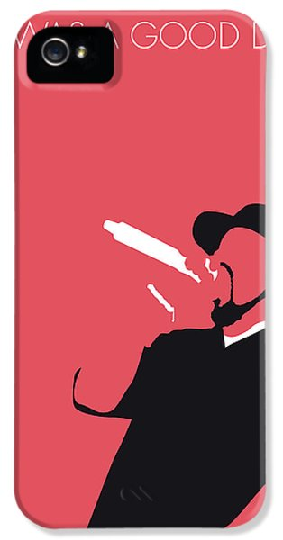 Rhythm And Blues iPhone 5 Case - No132 My Ice Cube Minimal Music Poster by Chungkong Art