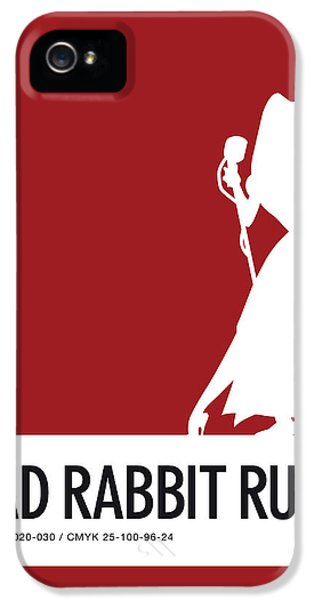 Mouse iPhone 5 Case - No14 My Minimal Color Code Poster Jessica Rabbit by Chungkong Art