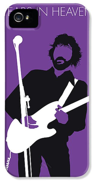 Eric Clapton iPhone 5 Case - No141 My Eric Clapton Minimal Music Poster by Chungkong Art