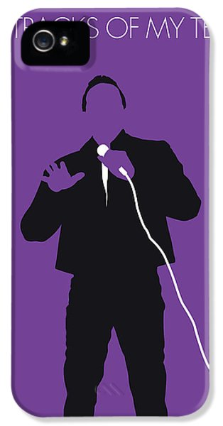 Rhythm And Blues iPhone 5 Case - No161 My Smokey Robinson Minimal Music Poster by Chungkong Art