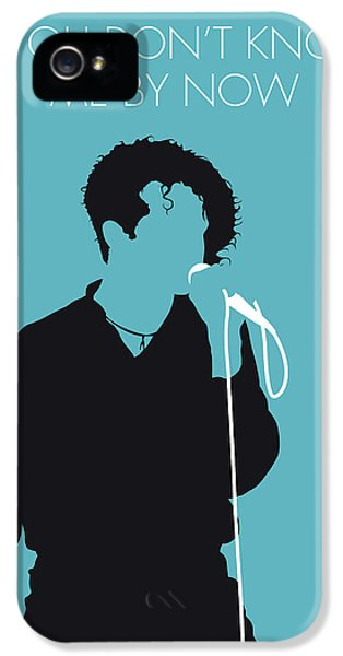 Rhythm And Blues iPhone 5 Case - No165 My Simply Red Minimal Music Poster by Chungkong Art