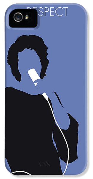Rhythm And Blues iPhone 5 Case - No188 My Aretha Franklin Minimal Music Poster by Chungkong Art