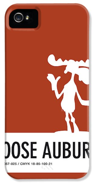 Pig iPhone 5 Case - No19 My Minimal Color Code Poster Bullwinkle by Chungkong Art