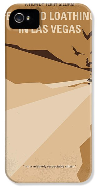 No293 My Fear And Loathing Las Vegas Minimal Movie Poster IPhone 5 Case by Chungkong Art