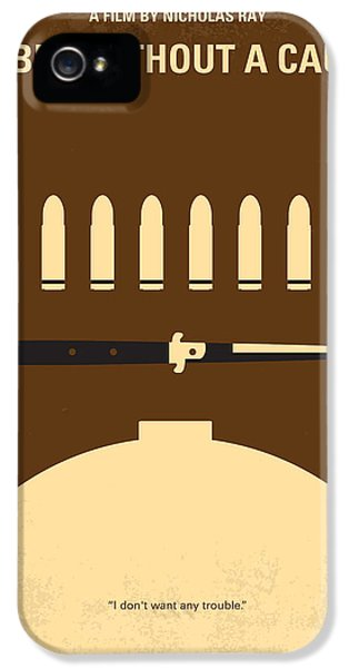 No318 My Rebel Without A Cause Minimal Movie Poster IPhone 5 Case by Chungkong Art