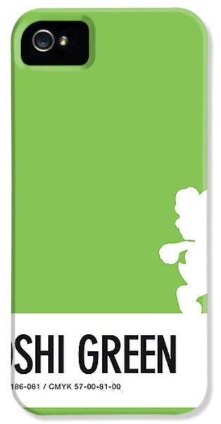 Daisy iPhone 5 Case - No36 My Minimal Color Code Poster Yoshi by Chungkong Art