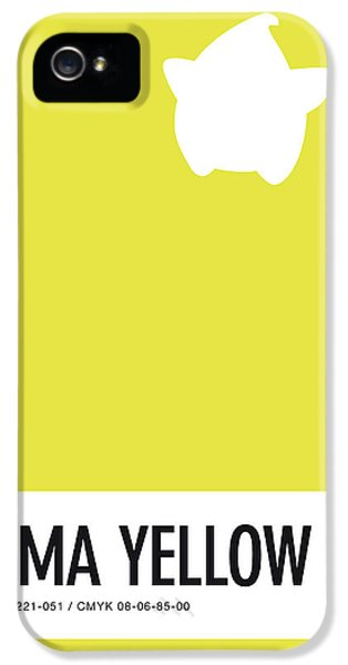 Daisy iPhone 5 Case - No40 My Minimal Color Code Poster Luma by Chungkong Art