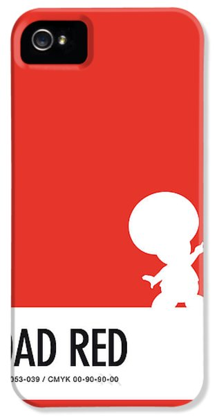 Daisy iPhone 5 Case - No41 My Minimal Color Code Poster Toad by Chungkong Art
