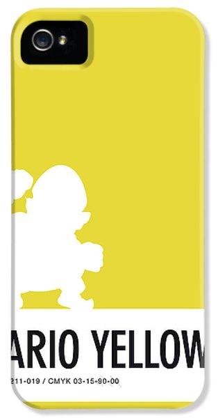 Daisy iPhone 5 Case - No43 My Minimal Color Code Poster Wario by Chungkong Art