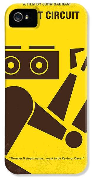 No470 My Short Circuit Minimal Movie Poster IPhone 5 Case