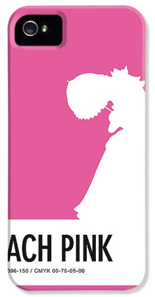 Daisy iPhone 5 Case - No44 My Minimal Color Code Poster Peach by Chungkong Art