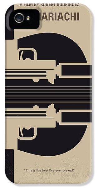 No445 My El Mariachi Minimal Movie Poster IPhone 5 Case by Chungkong Art
