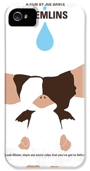 No451 My Gremlins Minimal Movie Poster IPhone 5 Case by Chungkong Art
