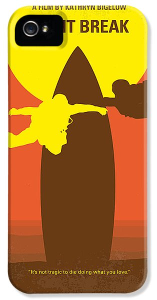 No455 My Point Break Minimal Movie Poster IPhone 5 Case by Chungkong Art