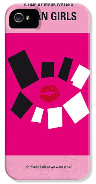 No458 My Mean Girls Minimal Movie Poster IPhone 5 Case by Chungkong Art