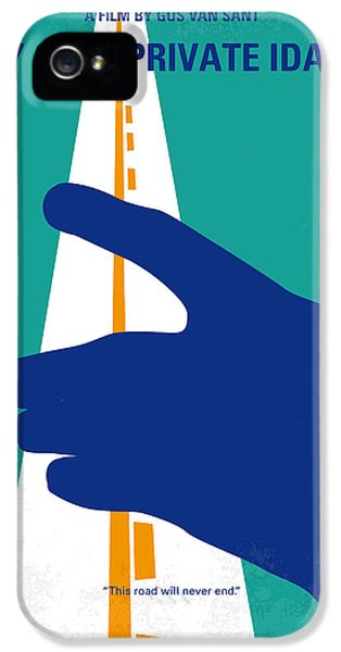 No472 My Own Private Idaho Minimal Movie Poster IPhone 5 Case by Chungkong Art
