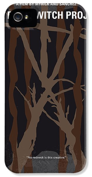 No476 My The Blair Witch Project Minimal Movie Poster IPhone 5 Case