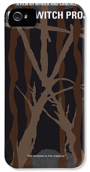 Legends iPhone 5 Case - No476 My The Blair Witch Project Minimal Movie Poster by Chungkong Art