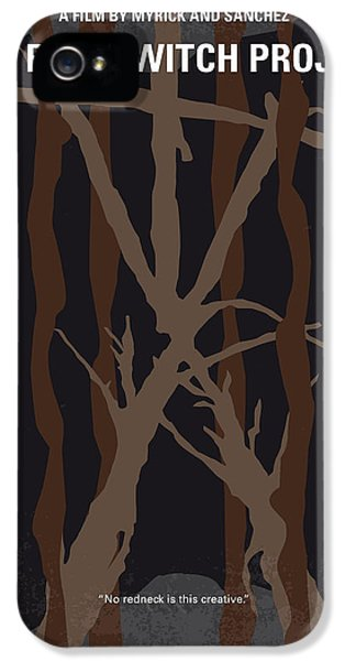 No476 My The Blair Witch Project Minimal Movie Poster IPhone 5 Case by Chungkong Art