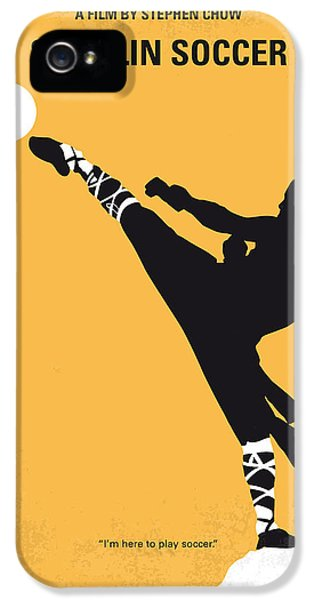 No480 My Shaolin Soccer Minimal Movie Poster IPhone 5 Case by Chungkong Art