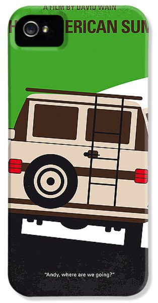 No481 My Wet Hot American Summer Minimal Movie Poster IPhone 5 Case by Chungkong Art