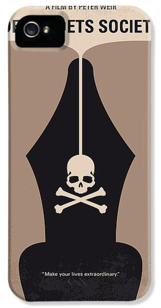 No486 My Dead Poets Society Minimal Movie Poster IPhone 5 Case