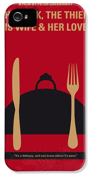 No487 My The Cook The Thief His Wife And Her Lover Minimal Movie IPhone 5 Case