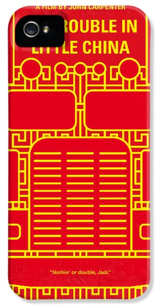 No515 My Big Trouble In Little China Minimal Movie Poster IPhone 5 Case