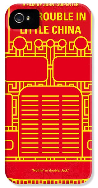Truck iPhone 5 Case - No515 My Big Trouble In Little China Minimal Movie Poster by Chungkong Art